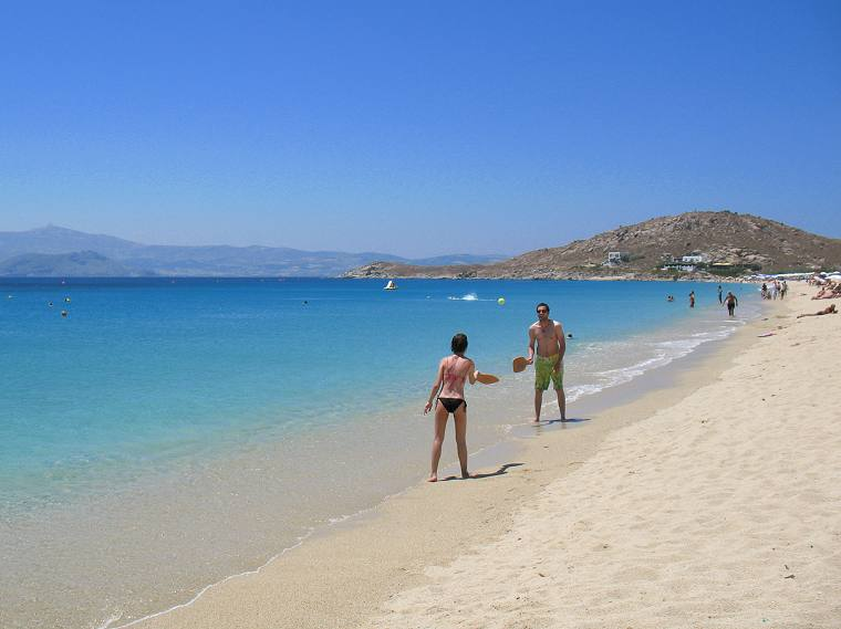 Agios Prokopios Beach in Naxos